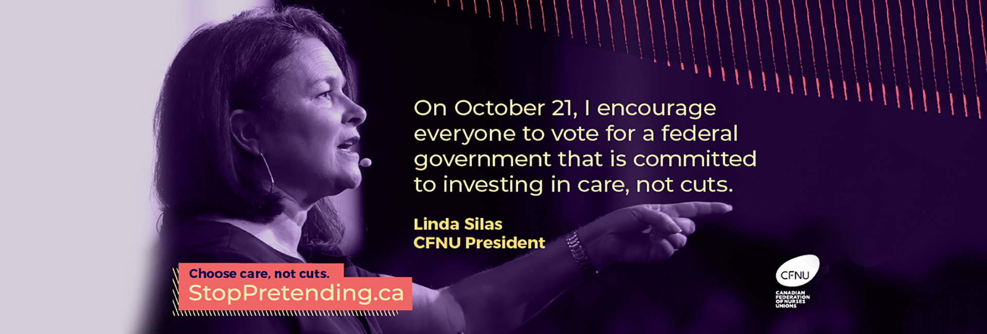 Stop Pretending - Choose care, not cuts.