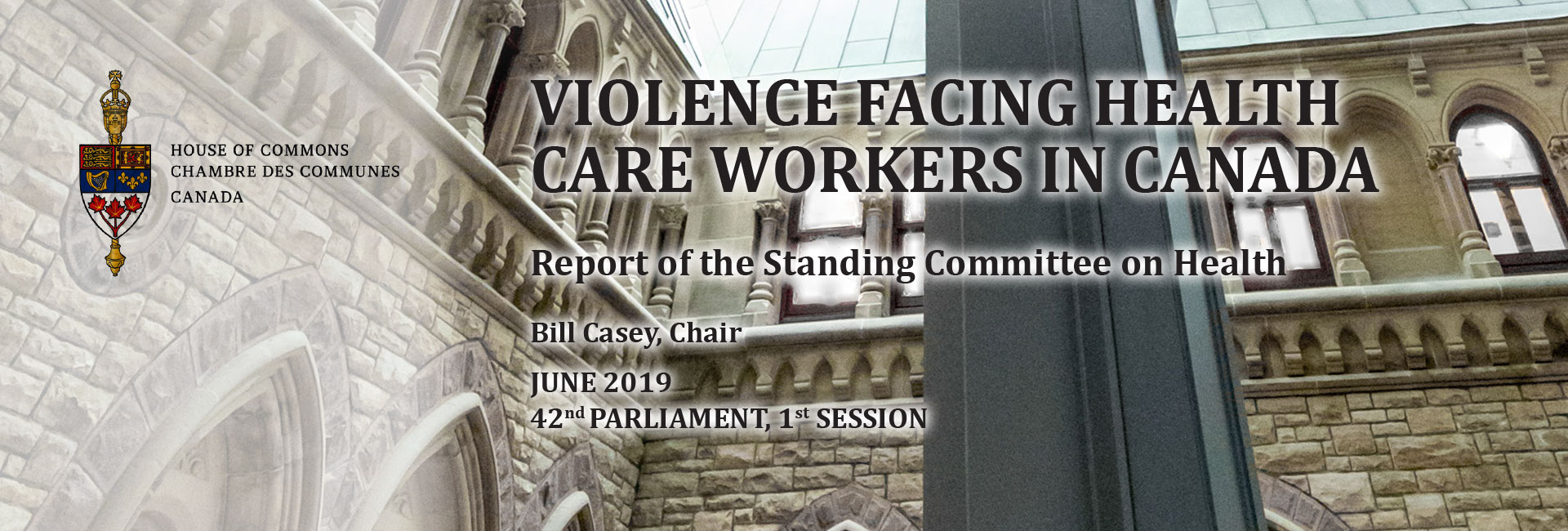 Violence Facing Health Care Workers in Canada