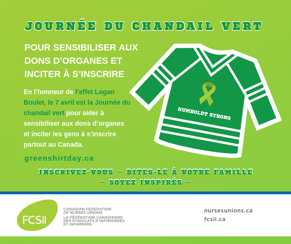 Green Shirt Day French
