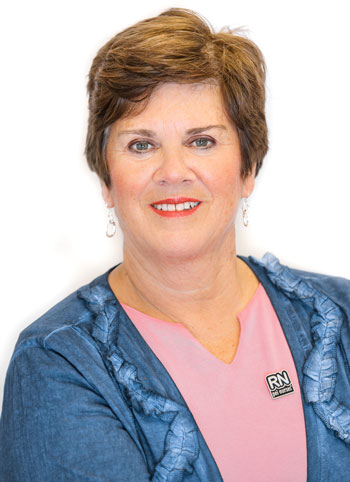 Mona O'Shea, RN, President